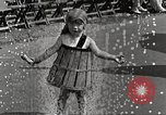 Image of bathing suit fashion parade Asbury Park New Jersey USA, 1922, second 52 stock footage video 65675061268