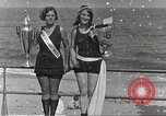 Image of bathing suit fashion parade Asbury Park New Jersey USA, 1922, second 62 stock footage video 65675061268