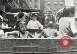 Image of home-made pool New York United States USA, 1922, second 15 stock footage video 65675061269