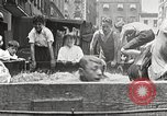 Image of home-made pool New York United States USA, 1922, second 16 stock footage video 65675061269