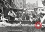 Image of home-made pool New York United States USA, 1922, second 19 stock footage video 65675061269