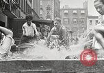Image of home-made pool New York United States USA, 1922, second 21 stock footage video 65675061269