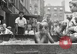 Image of home-made pool New York United States USA, 1922, second 23 stock footage video 65675061269