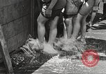 Image of home-made pool New York United States USA, 1922, second 31 stock footage video 65675061269