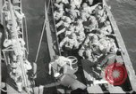 Image of US forces landing on Normandy beaches on D-Day France, 1944, second 1 stock footage video 65675061279