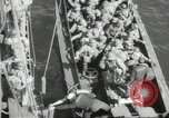 Image of US forces landing on Normandy beaches on D-Day France, 1944, second 2 stock footage video 65675061279