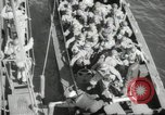 Image of US forces landing on Normandy beaches on D-Day France, 1944, second 4 stock footage video 65675061279