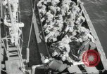 Image of US forces landing on Normandy beaches on D-Day France, 1944, second 5 stock footage video 65675061279