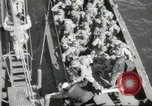 Image of US forces landing on Normandy beaches on D-Day France, 1944, second 6 stock footage video 65675061279