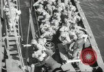 Image of US forces landing on Normandy beaches on D-Day France, 1944, second 7 stock footage video 65675061279
