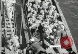 Image of US forces landing on Normandy beaches on D-Day France, 1944, second 8 stock footage video 65675061279