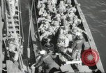 Image of US forces landing on Normandy beaches on D-Day France, 1944, second 9 stock footage video 65675061279