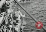Image of US forces landing on Normandy beaches on D-Day France, 1944, second 13 stock footage video 65675061279