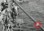 Image of US forces landing on Normandy beaches on D-Day France, 1944, second 17 stock footage video 65675061279
