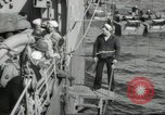 Image of US forces landing on Normandy beaches on D-Day France, 1944, second 21 stock footage video 65675061279