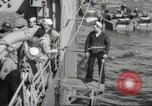 Image of US forces landing on Normandy beaches on D-Day France, 1944, second 22 stock footage video 65675061279