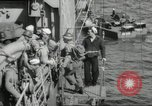 Image of US forces landing on Normandy beaches on D-Day France, 1944, second 31 stock footage video 65675061279