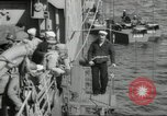 Image of US forces landing on Normandy beaches on D-Day France, 1944, second 32 stock footage video 65675061279