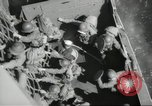 Image of US forces landing on Normandy beaches on D-Day France, 1944, second 35 stock footage video 65675061279