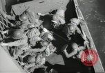 Image of US forces landing on Normandy beaches on D-Day France, 1944, second 36 stock footage video 65675061279