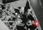 Image of US forces landing on Normandy beaches on D-Day France, 1944, second 38 stock footage video 65675061279