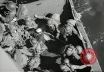 Image of US forces landing on Normandy beaches on D-Day France, 1944, second 42 stock footage video 65675061279