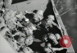 Image of US forces landing on Normandy beaches on D-Day France, 1944, second 43 stock footage video 65675061279