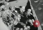 Image of US forces landing on Normandy beaches on D-Day France, 1944, second 44 stock footage video 65675061279