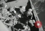 Image of US forces landing on Normandy beaches on D-Day France, 1944, second 45 stock footage video 65675061279