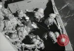 Image of US forces landing on Normandy beaches on D-Day France, 1944, second 46 stock footage video 65675061279