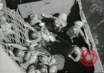 Image of US forces landing on Normandy beaches on D-Day France, 1944, second 47 stock footage video 65675061279