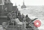 Image of Allied convoy English Channel, 1944, second 1 stock footage video 65675061301