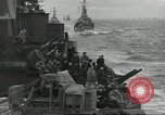 Image of Allied convoy English Channel, 1944, second 3 stock footage video 65675061301
