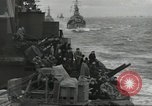 Image of Allied convoy English Channel, 1944, second 4 stock footage video 65675061301