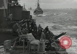 Image of Allied convoy English Channel, 1944, second 5 stock footage video 65675061301