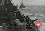 Image of Allied convoy English Channel, 1944, second 6 stock footage video 65675061301