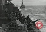 Image of Allied convoy English Channel, 1944, second 7 stock footage video 65675061301