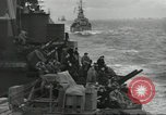 Image of Allied convoy English Channel, 1944, second 9 stock footage video 65675061301