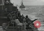 Image of Allied convoy English Channel, 1944, second 13 stock footage video 65675061301