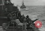 Image of Allied convoy English Channel, 1944, second 14 stock footage video 65675061301