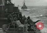 Image of Allied convoy English Channel, 1944, second 15 stock footage video 65675061301