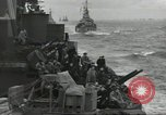 Image of Allied convoy English Channel, 1944, second 16 stock footage video 65675061301