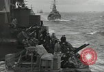 Image of Allied convoy English Channel, 1944, second 17 stock footage video 65675061301