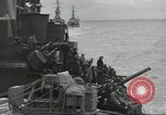 Image of Allied convoy English Channel, 1944, second 18 stock footage video 65675061301