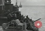 Image of Allied convoy English Channel, 1944, second 24 stock footage video 65675061301