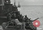 Image of Allied convoy English Channel, 1944, second 36 stock footage video 65675061301