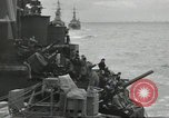 Image of Allied convoy English Channel, 1944, second 37 stock footage video 65675061301