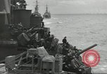 Image of Allied convoy English Channel, 1944, second 38 stock footage video 65675061301
