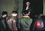 Image of Chaplain with B-17 Aircrew members United Kingdom, 1943, second 12 stock footage video 65675061393