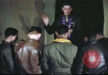 Image of Chaplain with B-17 Aircrew members United Kingdom, 1943, second 13 stock footage video 65675061393